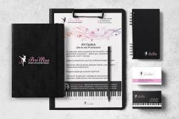 Portfolio johnny10 wizytówki papier firmowy