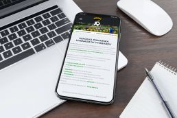 Portfolio johnny10 KS Harnaś Tymbark responsive web design iphone