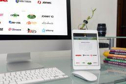 Portfolio johnny10 KS Harnaś Tymbark responsive web design imac ipad