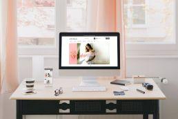 Johnny 10 portfolio wnetubranie responsive web design widok na komputerze