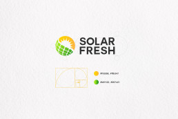 johnny10.com - Solar Fresh logo konstrukcja